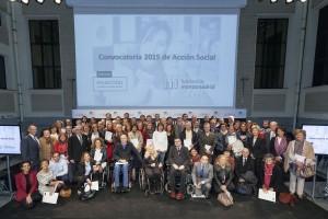 Madrid, 31 de marzo de 2016. Entrega de la Fundación Montemadrid y Bankia del acto de entrega de Convenios Acción Social 2015, celebrado en La Casa Encendida. Foto ©MIGUEL BERROCAL